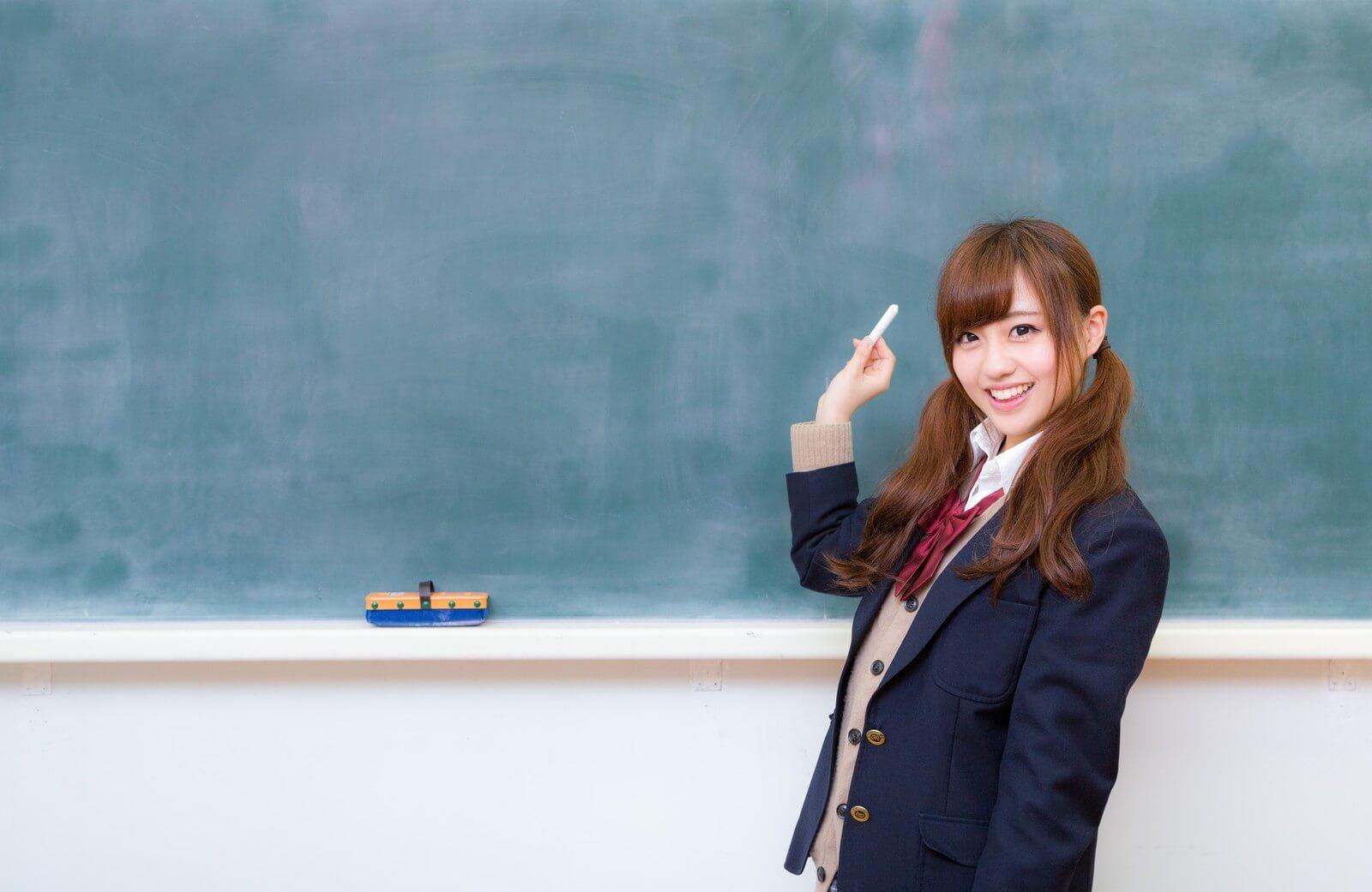 女子高生の写真