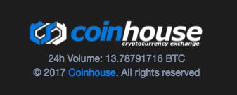 コインハウスの時価総額
